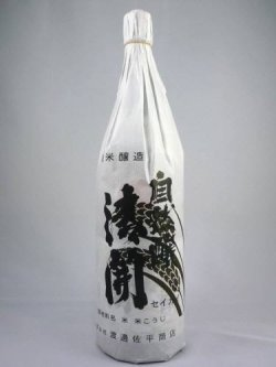 画像1: 純米酒 自然醸 清開 1800ml