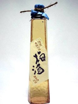 画像1: 東力士 酒蔵本格仕込 梅酒 ドレス瓶 500ml